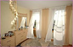 Curtains For Small Bedroom Windows Inspiration Stylist Inspiration Curtain Ideas For Bedrooms Large Windows