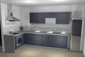 peindre une cuisine en gris cuisine gris anthracite 56 id impressionnant credence pour cuisine