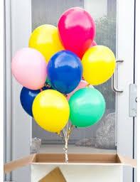balloon in a box big box of helium balloons tinysurprise gifts