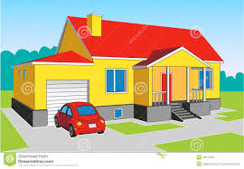 House With Garage House With A Garage Royalty Free Stock Photo Image 36237955