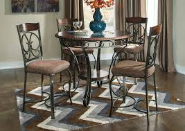 Dining Room Tables For 4 Hornell Furniture Outlet Glambrey Counter Height Table W 4
