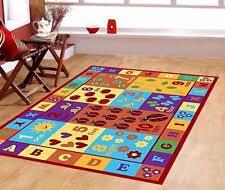 Alphabet Area Rug Abc Carpet Ebay