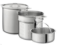 all clad stainless steel multi cooker set 12 qt e7965364