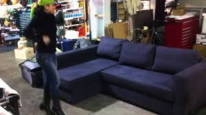 used ikea manstad sofa couch bed for sale los angeles youtube
