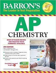 Ap Chem Reference Table Amazon Com Barron U0027s Ap Chemistry 8th Edition 9781438007373