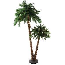 artificial christmas palm trees home decorating interior design