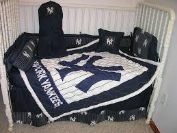 Yankees Crib Bedding Crib Nursery Bedding Set Made W New York Yankees Ny Work
