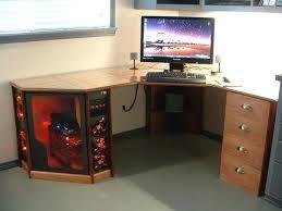 Big Gaming Desk Tower Computer Desk Storage Cabinet Overhead Nzxt Phantom Big
