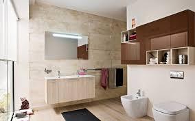 Recessed Vanity Lighting White Bathroom Cabinets Led Lights Above Frameless Mirror Natural