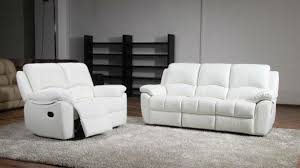 White Leather Sofas Awesome Living Rooms Charming White Leather Recliner Sofa