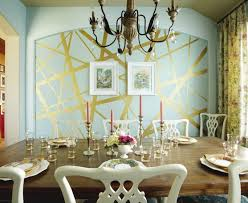 paint ideas for dining room bedroom beautiful awesome gold leafed wall paint dining room
