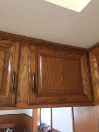 staining kitchen cabinets with gel stain staining honey oak cabinets cherry with gel stain