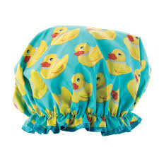 shower couture duck shower cap beyond imagination