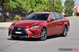 lexus sedans 2016 2016 lexus gs 200t f sport review video performancedrive