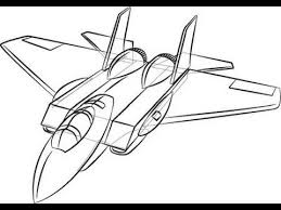 tutorial how to draw a plane super easy youtube