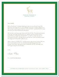 official letters from santa printable official letter from santa template