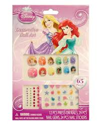 amazon com disney princess 65 piece decorative nail art kit toys