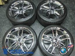 used corvette tires 2014 15 corvette c7 z51 factory stingray 19 20 wheels tires rims