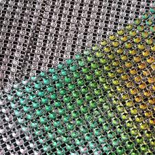 mesh ribbon wholesale purple plastic rhinestone ribbon mesh trim wholesale wholesale