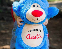 engraved teddy bears personalized teddy etsy