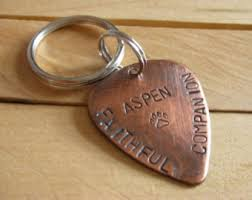Remembrance Keychain Nugold Handstamped Pet Memorial Remembrance