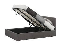 birlea berlin 4ft6 double fabric ottoman bed frame in grey 219