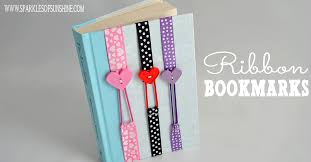 ribbon bookmarks sparkles of