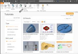 autocad tutorial getting started get started tutorials inventor products autodesk knowledge network