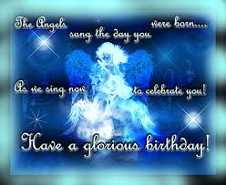 angels sang for you free happy birthday ecards greeting cards