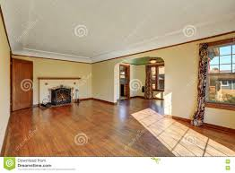 empty living room interior of tudor style home stock photo image royalty free stock photo