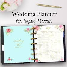 planner wedding happy planner wedding inserts wedding planner printable planning