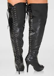 womens boots on sale wide calf lace up the knee boots wide calf wide width