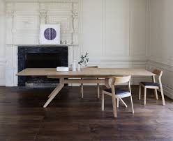 Dining Room Wood Table by Cross Extending Dining Table By Matthew Hilton Case