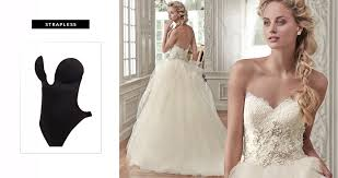 Strapless Wedding Dress Undergarments For Your Wedding Dress Love Maggie Love Maggie