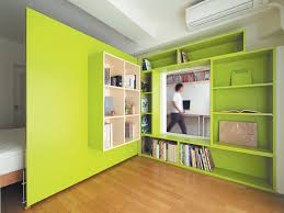 photo 1 of 2 in this shape shifting apartment lets an architect