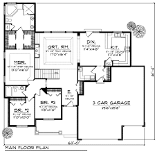 ranch style house plan 3 beds 2 00 baths 1948 sq ft plan 70 715