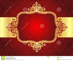 wedding invitation background free download wedding invitation background with red damask patt stock image