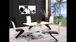 Extending Table And Chairs White Black Grey High Gloss Dining Table And 4 6 8 Chairs