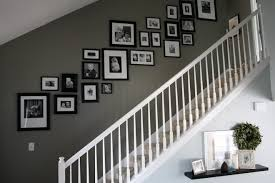 love the layout black frames black and white photos and that
