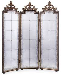 Gold Room Divider by John Richard Antique Gold Mirrored Screen Screens And Room
