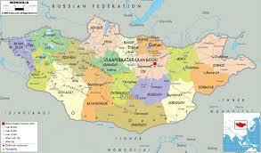 Map Of Asia With Cities by Maps Of Mongolia Map Library Maps Of The World