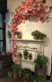 top 25 best flower wall decor ideas on pinterest 3d paper my trip to magnolia market things to know if you visit