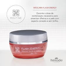 Top Máscara Facial Flash-Energy Routine Hinode   Atittude &MD22