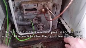 utica gas boiler pilot light replacing a thermocouple on a boiler with no pilot light youtube
