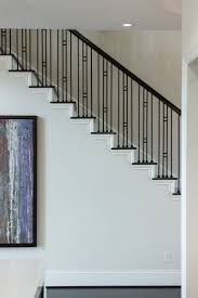 39 best railing images on pinterest stairs wrought iron modern contemporary stair remodel ideas
