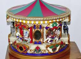 christmas carousel mr christmas carousel merry go musical lighted needs