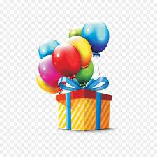 balloons gift gift box colored balloons gift png 1276 1276