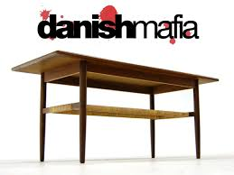 Tall Sofa Table by Mid Century Danish Modern Teak Coffee Sofa Table Eames Danish Mafia