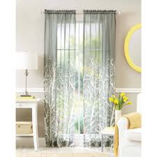 better homes and gardens semi sheer grommet curtain panel