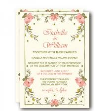 wedding invitations floral cheap print floral rustic wedding invitation wip001